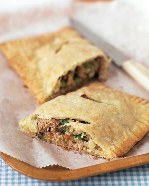 turkey and vegetable hand pies - martha stewart