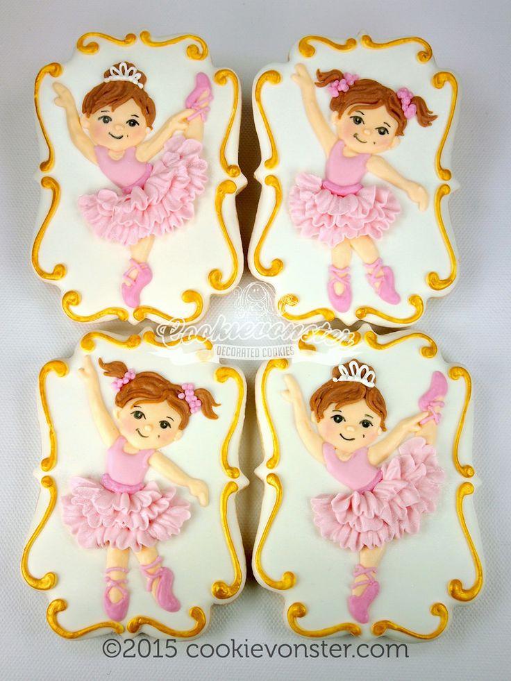 Ballerina Cookies by Cookievonster