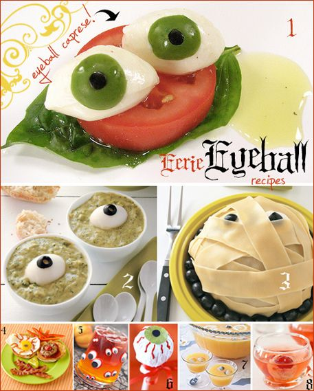 Simply Stated: Eerie Eyeball Recipes