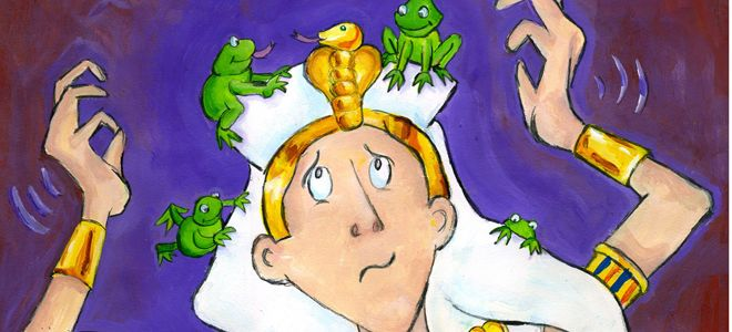 Interview with Author and Illustrator Ann Koffsky about Her New Book Frogs in the Bed: My Passover Seder Activity Book