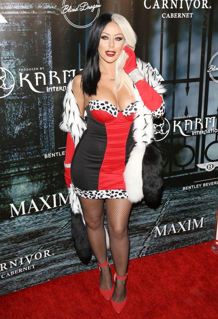 the best celebrity halloween costumes of 2015 - Cruella Deville Halloween Costume Ideas