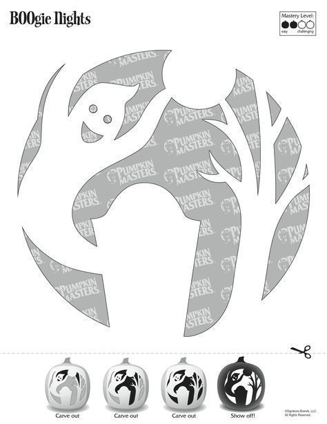 73 besten Pumpkin Carving Patterns Bilder auf Pinterest | Kürbisse ...