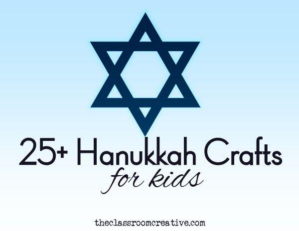 Hanukkah crafts for kids, Hannukah ideas for kids