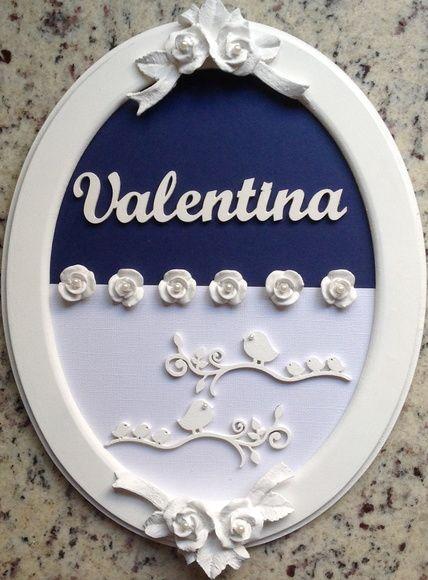 QUADRO MATERNIDADE - Valentina