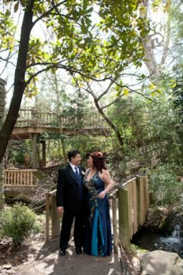 Cincinnati Zoo Wedding Photos