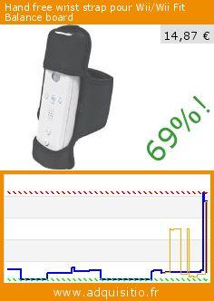 Hand free wrist strap pour Wii/Wii Fit Balance board (Accessoire). Réduction de 69%! Prix actuel 14,87 €, l'ancien prix était de 47,63 €. http://www.adquisitio.fr/cta/hand-free-wrist-strap