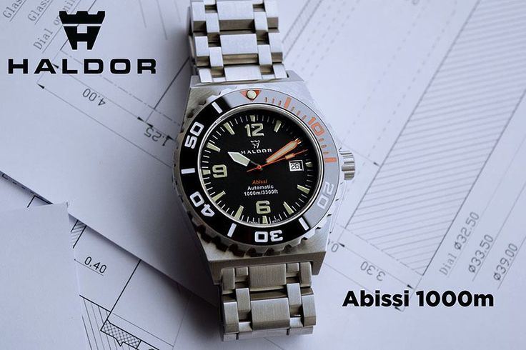 """Haldor Abissi Watch: How They Made It 'Swiss-Made' For Under €800 - on aBlogtoWatch.com """"Have you ever asked yourself why, in the vast world of dive watches, there are not more 'Swiss-Made' automatic dive watches at a reasonable price? There are certainly a number of decent brands that make fine products... Long story short, we found out that not only we can build a high-quality, certified product for the same prices as other brands, but we can even substantially lower the retail price..."""""""
