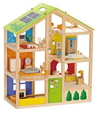 All Season House Furnished   HAPE TOYS   Buy online at DirectToys NZ