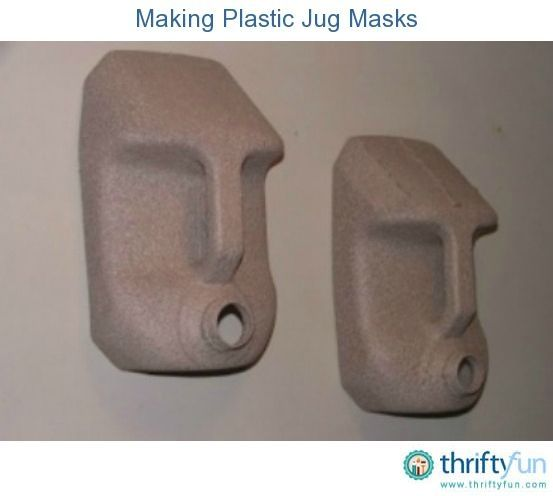 This guide is about making plastic jug masks. Frugal fun masks can be made by with recycled plastic jugs. by liz