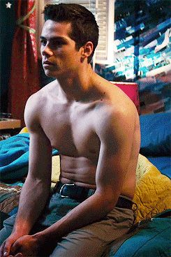 Meet Stiles, played by Dylan O'Brien.