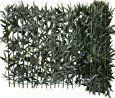 Haie de Bambou sur support rigide bambou naturel Brise Vue Haie artificielle PVC Vert 300 x 12 x 100 cm: Amazon.fr: Jardin