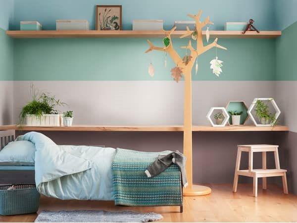 Χρώματα για παιδικό δωμάτιο. Φωτεινά χρώματα δημιουργούν ένα φιλόξενο περιβάλλον για τα παιδιά