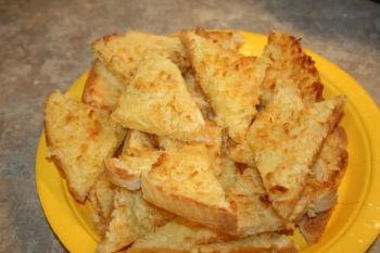 How to Make Coconut Toast, Jamaican Recipes, Jamaican Cooking