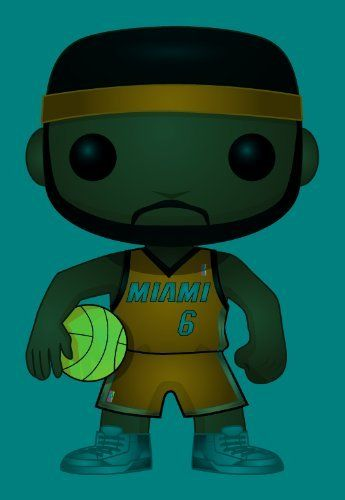 """Funko POP NBA Lebron James Vinyl Figure by Funko. $11.93. Gold medal winner. Stands 3.75"""" tall. Highly collectible. From the Manufacturer                The multiple NBA MVP winner you love to hate, or simply love to love, LeBron James makes a much-anticipated Pop. Vinyl debut with this NBA Series 1 LeBron James Pop. Vinyl Figure.                                    Product Description                The multiple NBA MVP winner you love to hate, or simply love to love, LeBr..."""