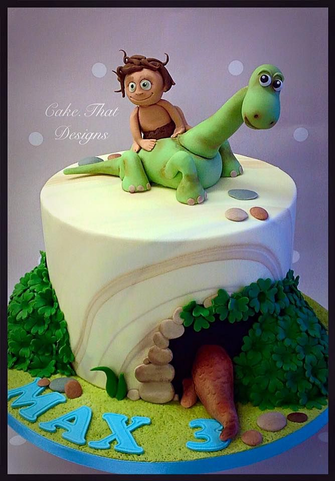 636 best Dinosaur Cakes images on Pinterest Dinosaur cake