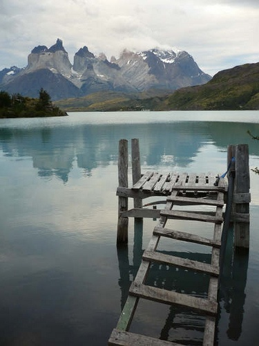The view of Lago Pehoe, Torres del Paine, Chile (byOasis Overland)