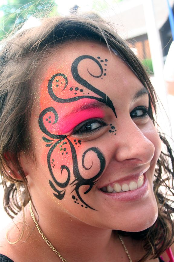 Face Paint always makes for a more fun festival!