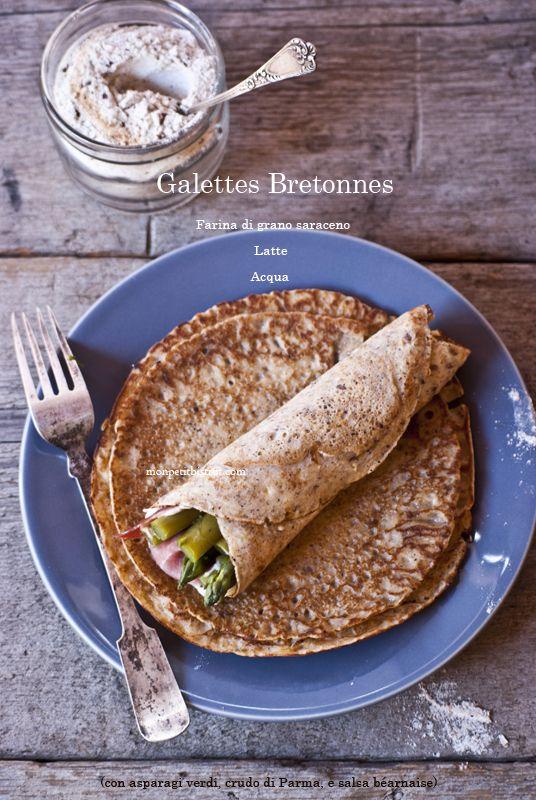 Galettes Bretonnes (gallette di grano saraceno) | Mon petit bistrot