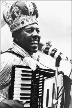 Clifton Chenier, King of Zydeco.