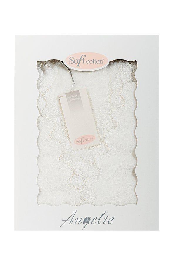 Damski luksusowy szlafrok ANGELIC w opakowaniu podarunkowym.