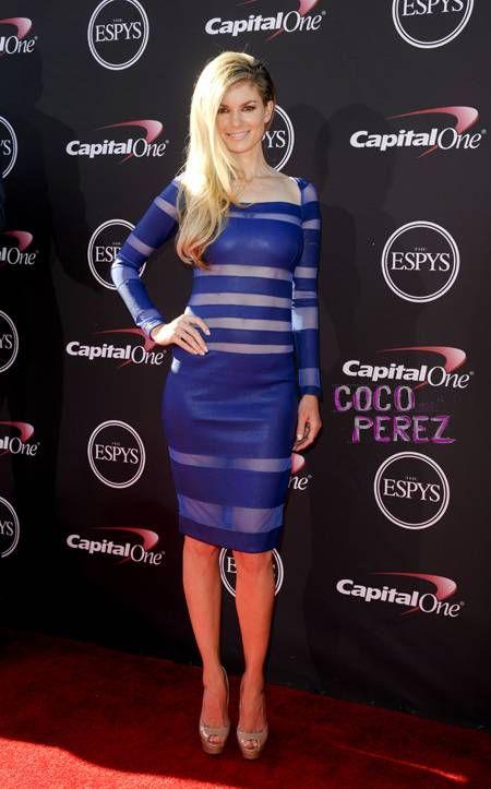 ESPY Awards 2013: Marisa Miller walks the red carpet.