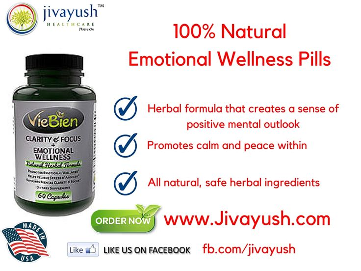 """Achieve your mental and emotional wellness goals with this unique, natural herbal formulation ! """"#VieBien Clarity & Focus + Emotional Wellness """" Helps Relieve Stress & Anxiety."""