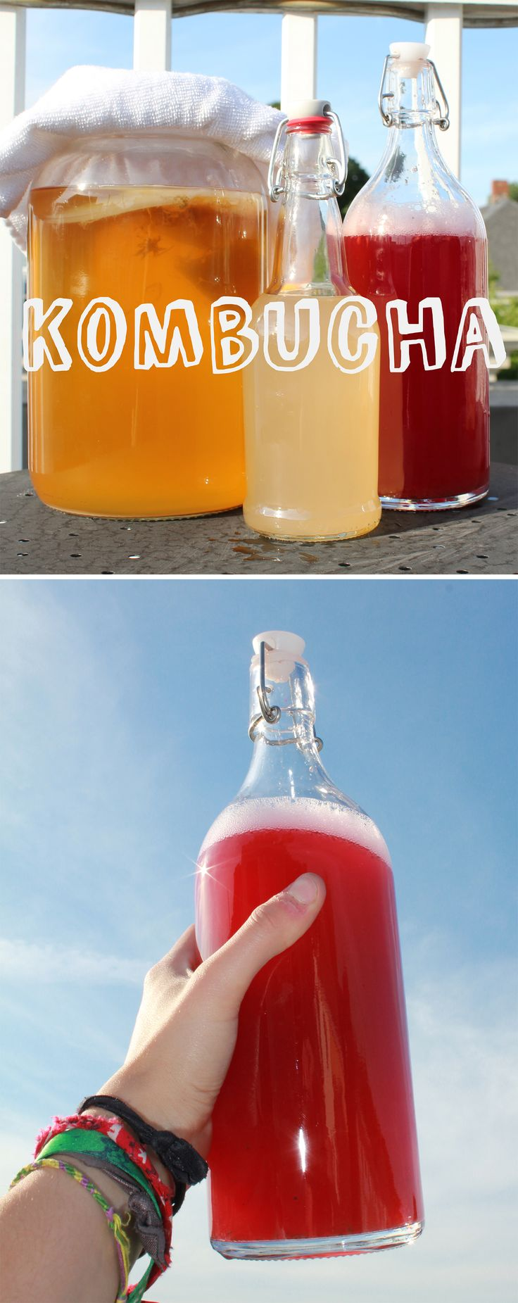 Kombucha is a fermented tea using a bacteria called a Scoby. It's a lot easier to make at home than you think.