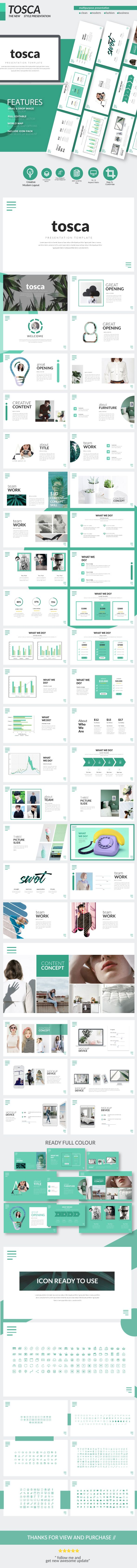 Tosca - Keynote Presentation Templates - Business Keynote Templates