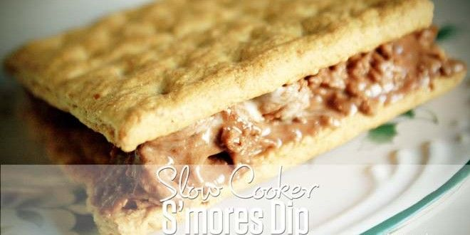 I've been on a hunt for the best dessert dip recipes like this slow cooker S'mores Dip recipe! Not o