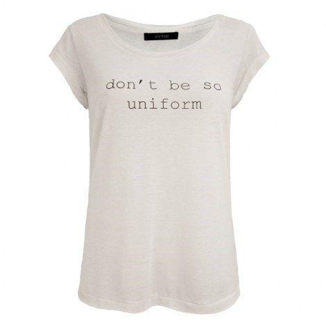 Julie Brandt, Donna T-shirt, Hvid