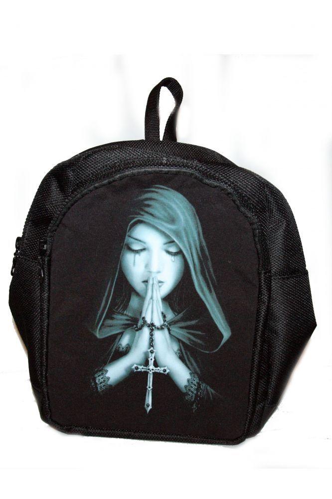 Hátitáska, hátizsák, imádkozó nő
