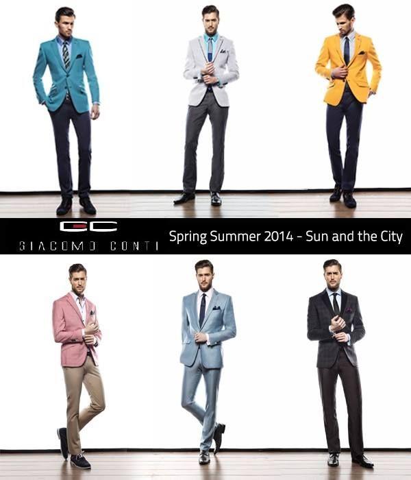 Panów szukających pomysłów na nowy wizerunek na wiosnę, odsyłamy do Giacomo Conti   http://www.pinterest.com/giacomoconti/spring-summer-2014-casual/
