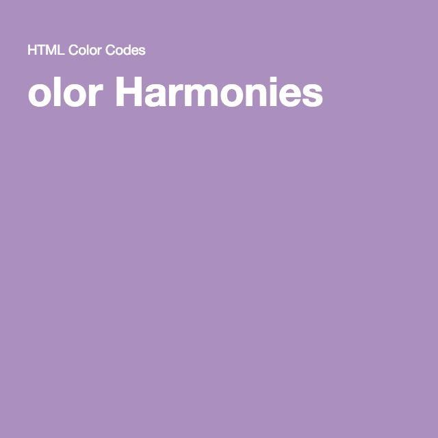 olor Harmonies