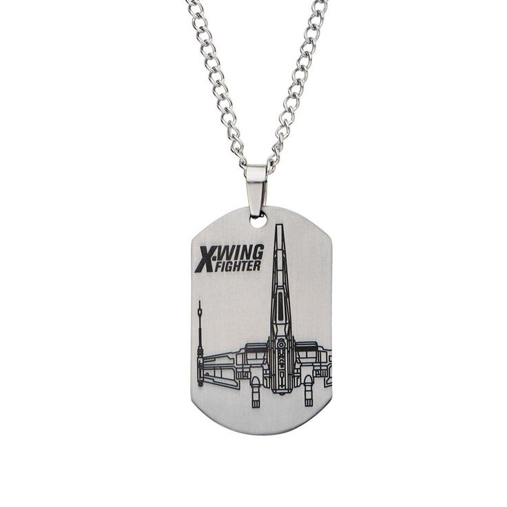 Fine Jewelry Mens Flame Dog Tag Stainless Steel sipWMS