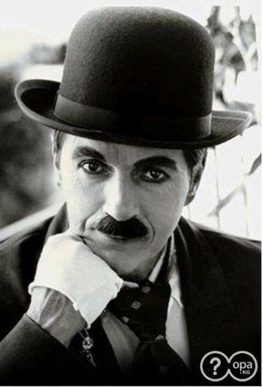 Чарли Чаплин в молодости