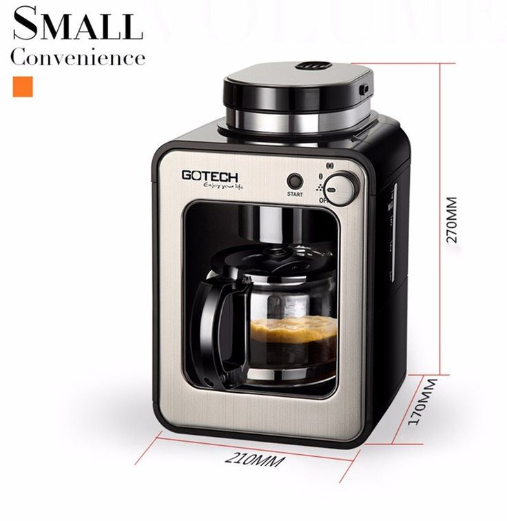 Full Automatic Coffee Machine Home Business New Generation Intelligent Induction Grinder
