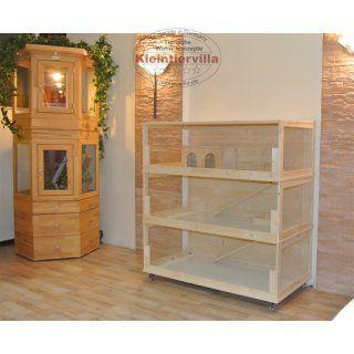 wood frame cage