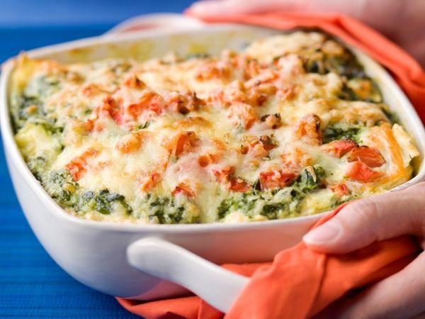 Lasagne met zalm en spinazie - Libelle Lekker!