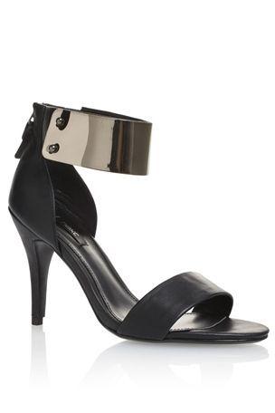 Metallic Cuff Sandals - Next UK   In love with the cuff!