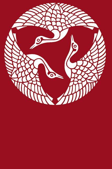 Japanese Kamon Wallpaper by sjrankin, via Flickr