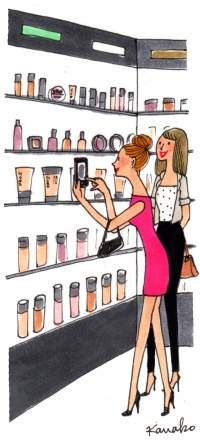 hum.....Paris Sephora...  been there