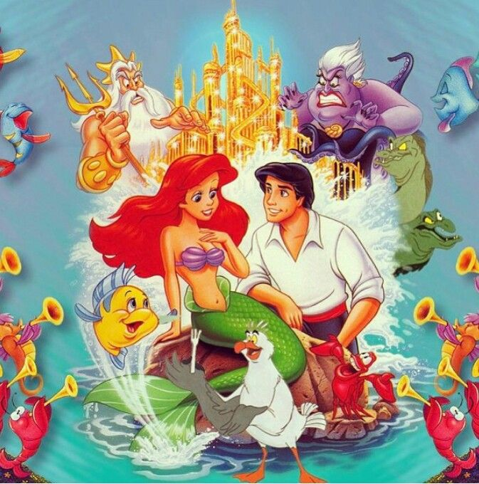 The Little Mermaid original cover