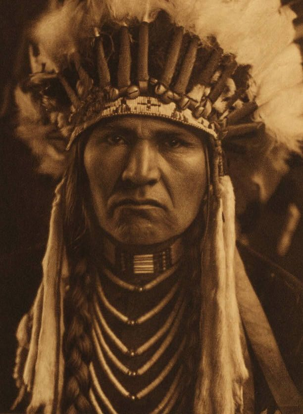 A Typical Nez Perce, 1910 by Edward Curtis