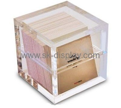 Acrylic company custom perspex small acrylic display box with lid DBS-223
