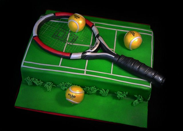 Tennis Cake 29060 CREATIVE CAKE ART SPORTS  Flickr Photo