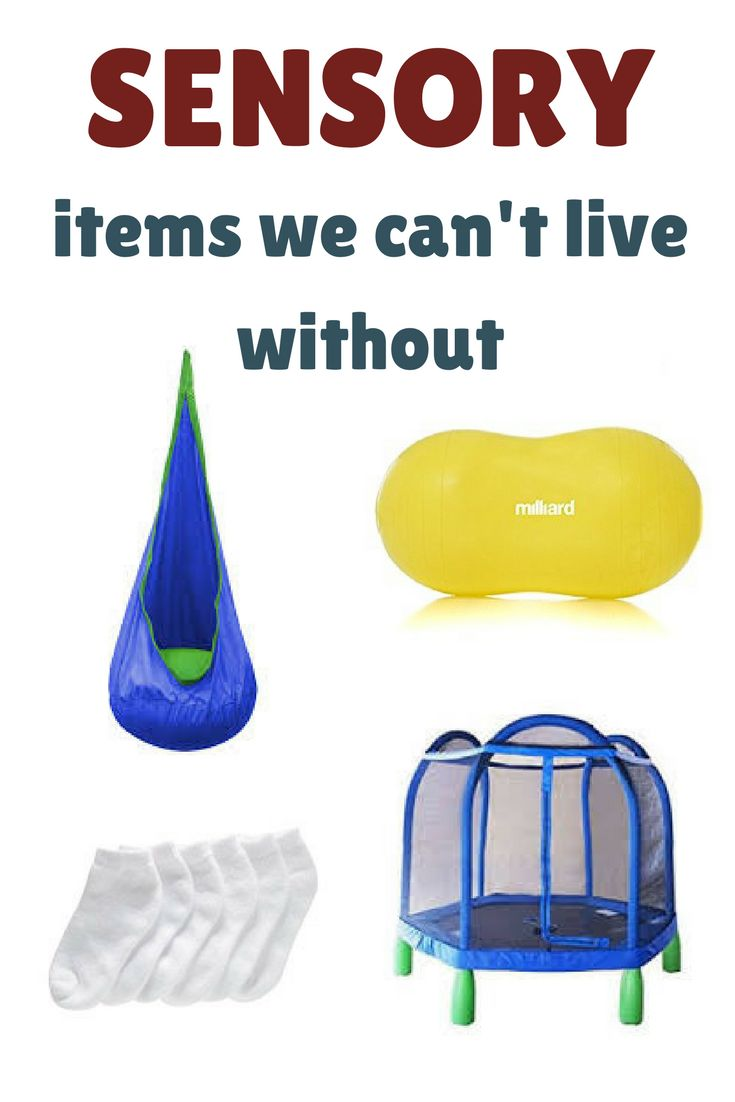 Our favorite sensory items.  Sensory toys and sensory friendly clothing.  Perfect for kids with sensory processioning disorder, autism, or any kids!