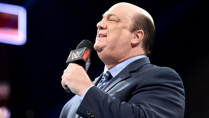 Paul Heyman challenges Goldberg on Brock Lesnar's behalf: photos