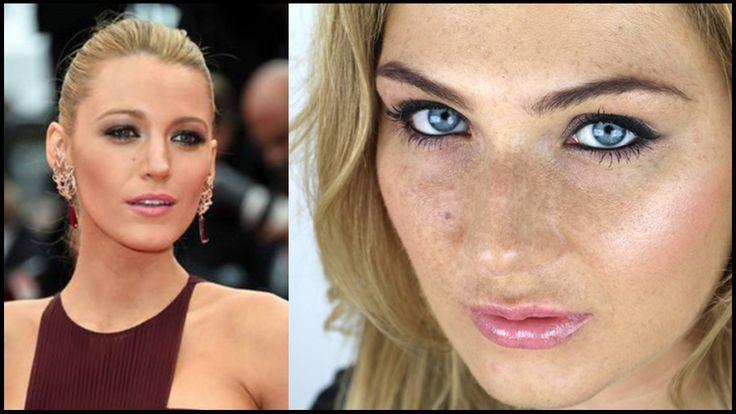 💗 BLAKE LIVELY tutorial 💋 - makijaż codzienny czy wieczorowy?