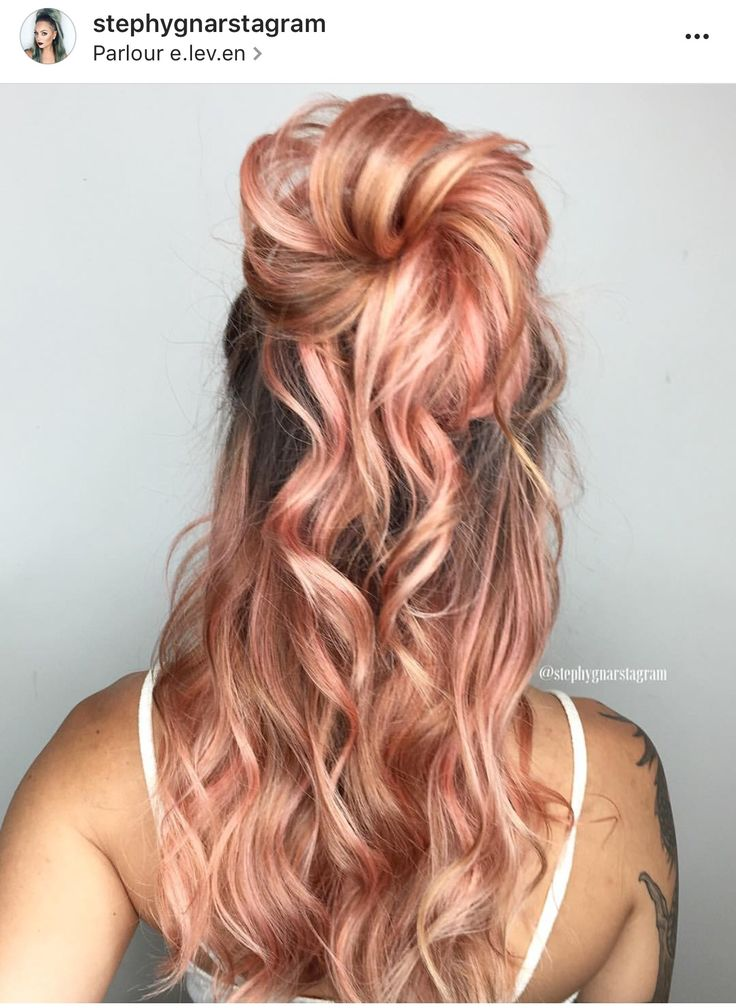 Seriously the most gorgeous rose gold hair I have ever laid eyes on. Next color for sure.