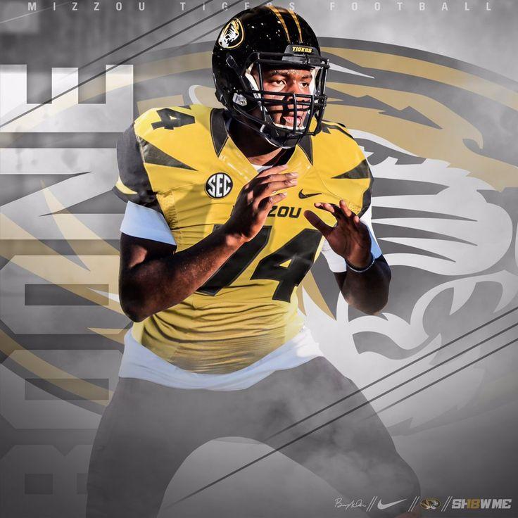 Missouri college football recruiting football helmets